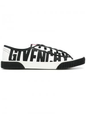 Кроссовки Boxing с логотипом Givenchy. Цвет: белый