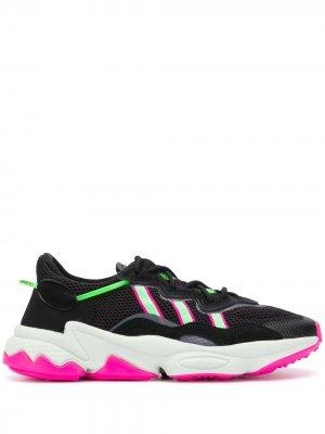Кроссовки Ozweego adidas. Цвет: черный