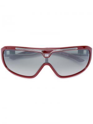 Солнцезащитные очки с вырезом Jean Paul Gaultier Pre-Owned. Цвет: красный