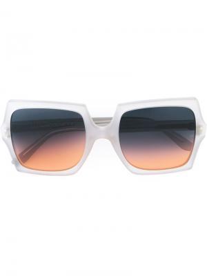 Солнцезащитные очки Moosh Oliver Goldsmith. Цвет: серый