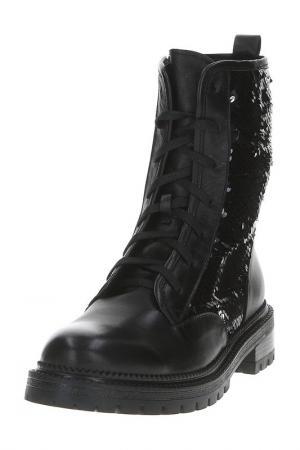 Ботинки AQUAMARIN. Цвет: черный