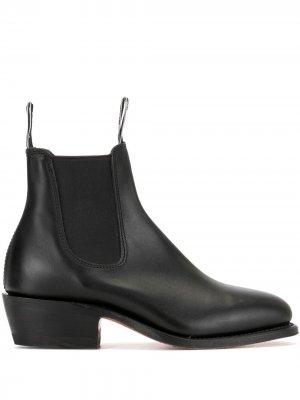 Ботинки челси Lady Yearling R.M.Williams. Цвет: черный