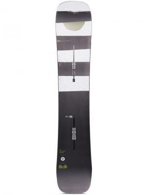 Trick Pilot Snowboard Burton Ak. Цвет: черный