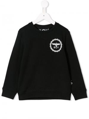 Eagle logo print sweatshirt Boy London Kids. Цвет: черный