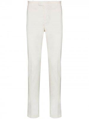 Узкие брюки чинос Eleventy. Цвет: нейтральные цвета