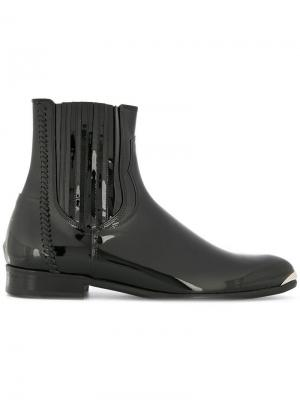 Pointed ankle boots Wooyoungmi. Цвет: черный