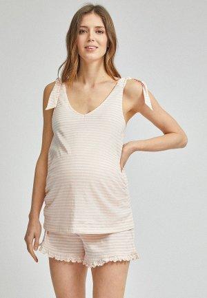 Пижама Dorothy Perkins Maternity. Цвет: розовый