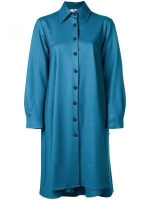 Shirt dress Ultràchic. Цвет: синий