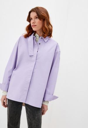 Рубашка Bimba Y Lola. Цвет: фиолетовый