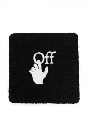 Придверный коврик с логотипом Hand Off-White. Цвет: 1001 черный cream