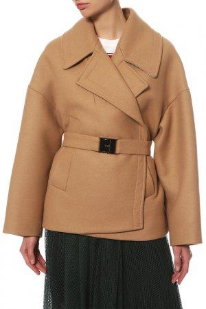 Пальто N°21. Цвет: бежевый