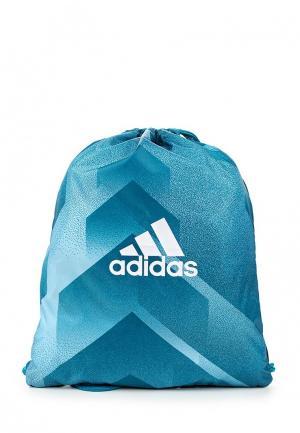 Мешок adidas Performance. Цвет: синий