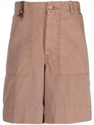 Джинсовые шорты с завышенной талией Missoni. Цвет: коричневый