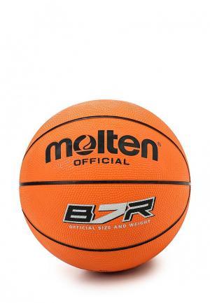 Мяч баскетбольный Molten. Цвет: оранжевый