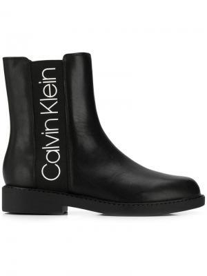 Ботинки челси Ck Calvin Klein. Цвет: черный