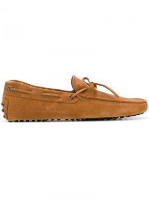 Gommino loafers Tod's. Цвет: коричневый