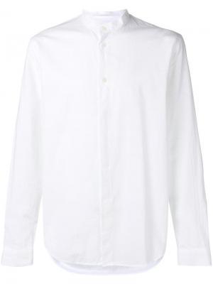 Mandarin collar shirt Folk. Цвет: белый