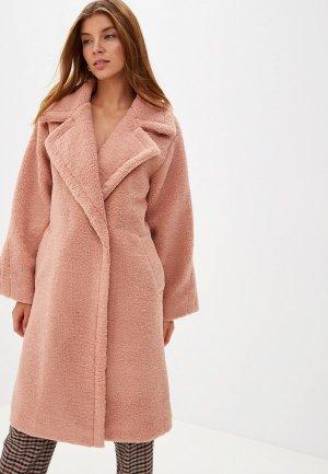 Шуба Grand Style. Цвет: розовый