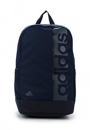 Рюкзак adidas Performance. Цвет: синий