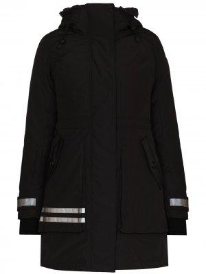 Лыжная куртка Toronto с капюшоном Canada Goose. Цвет: черный