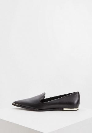 Лоферы DKNY. Цвет: черный