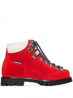Ботинки на шнуровке Proenza Schouler. Цвет: красный