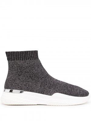 Кроссовки-носки Mallet. Цвет: черный