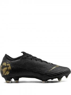 Футбольные бутсы Vapor 12 Elite Nike. Цвет: черный