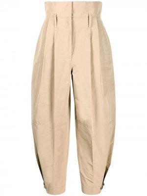 Укороченные брюки с завышенной талией Givenchy. Цвет: нейтральные цвета
