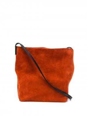 Сумка через плечо Ann Demeulemeester. Цвет: оранжевый