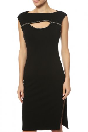 Платье Paola Frani. Цвет: черный