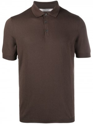 La Fileria For Daniello рубашка поло с короткими рукавами D'aniello. Цвет: коричневый