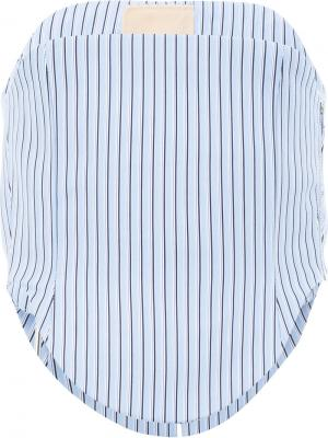 Рубашка-корсет Y / Project. Цвет: синий
