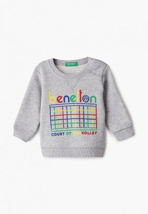 Свитшот United Colors of Benetton. Цвет: серый