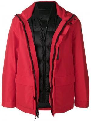 Утепленная куртка Woolrich. Цвет: красный