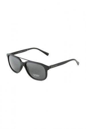 Очки солнцезащитные BURBERRY. Цвет: matte black
