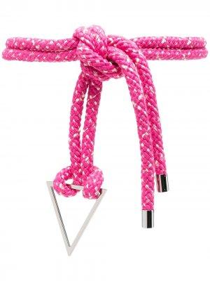 Пояс с завязками IRO. Цвет: розовый