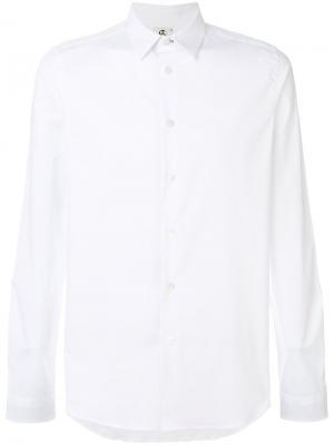 Рубашка кроя слим Ps By Paul Smith. Цвет: белый