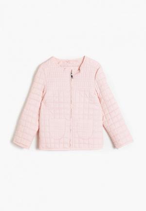 Куртка кожаная Koton. Цвет: розовый