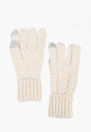 Перчатки Gap. Цвет: белый
