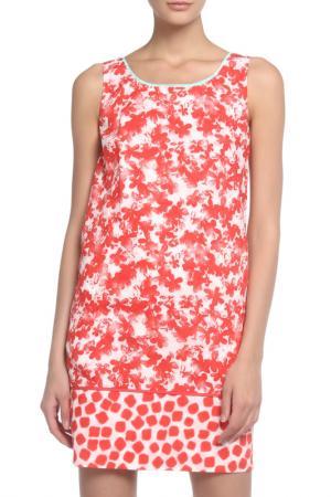 Платье Marella. Цвет: красный