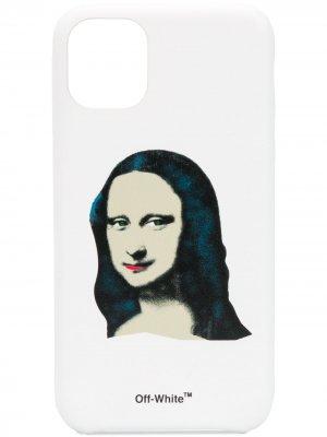 Чехол Monalisa для iPhone 11 Off-White. Цвет: белый