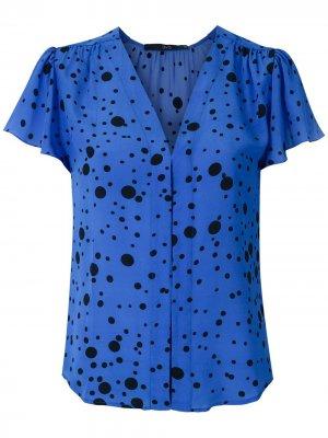 Блузка Poá Eclipse Eva. Цвет: синий