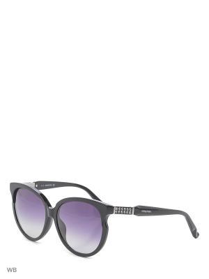 Солнцезащитные очки SK 0081 05B Swarovski. Цвет: черный