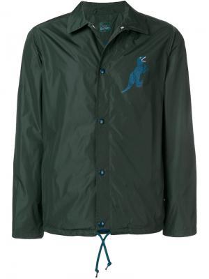 Куртка с принтом динозавра Ps By Paul Smith. Цвет: зеленый