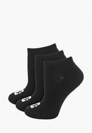 Носки DC Shoes. Цвет: черный