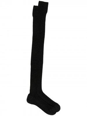 Носки с эффектом металлик Missoni. Цвет: черный