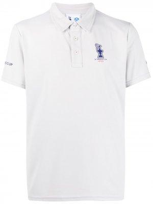 Рубашка поло из коллаборации с 36th Americas Cup presented by Prada North Sails. Цвет: серый