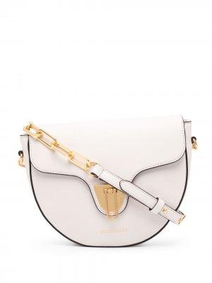 Полукруглая сумка через плечо Beat Coccinelle. Цвет: нейтральные цвета