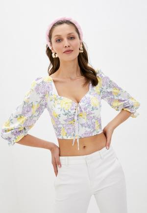 Блуза Glamorous. Цвет: разноцветный